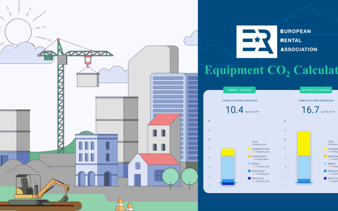 European Rental Association releases new and improved ERA Equipment CO2 Calculator