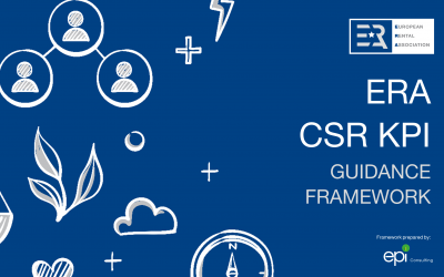 New ERA CSR KPI Guidance Framework to help rental companies improve sustainability performance and reporting
