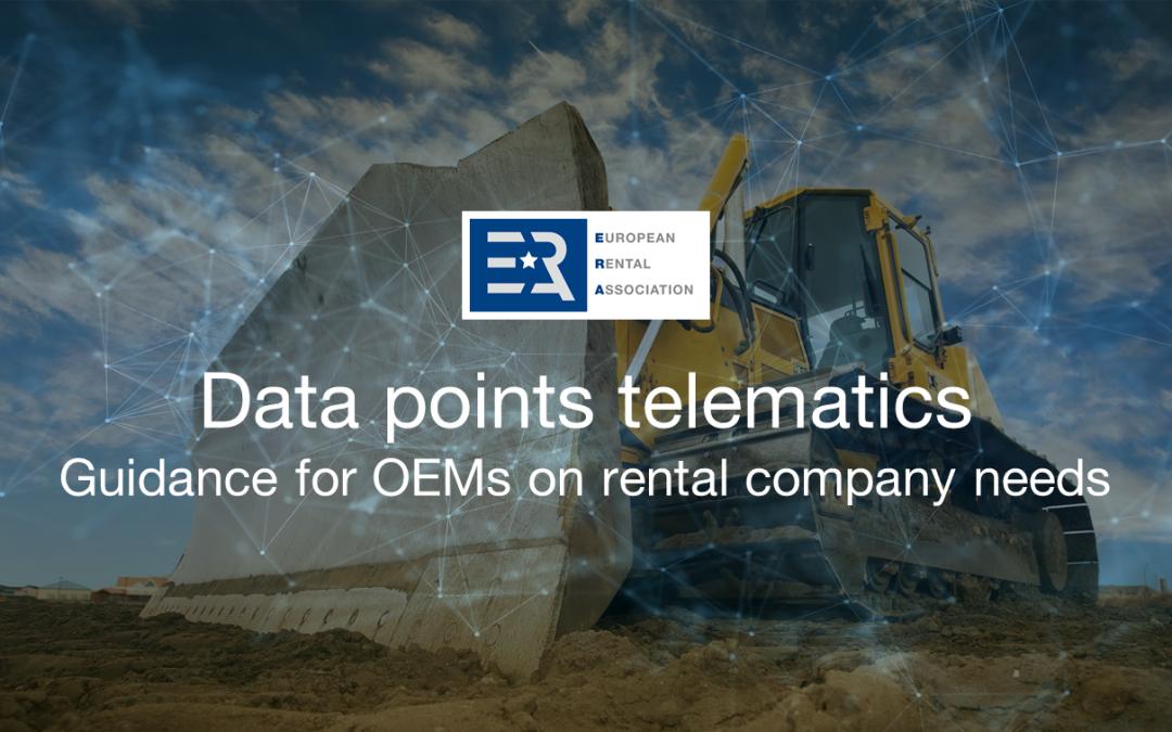 ERA Technical Committee – Telematics priorities
