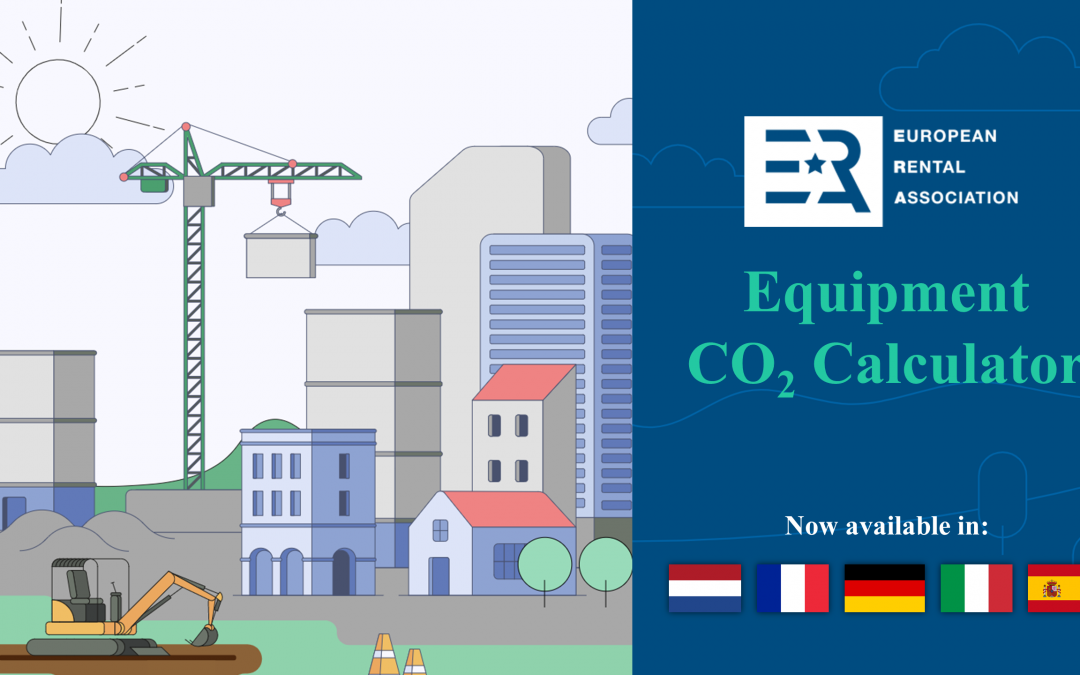 The ERA Equipment CO2 Calculator is now available in 6 languages